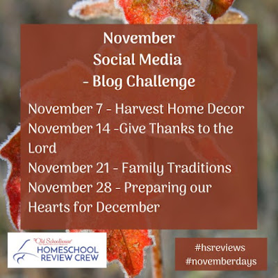 November Monthly Challenge