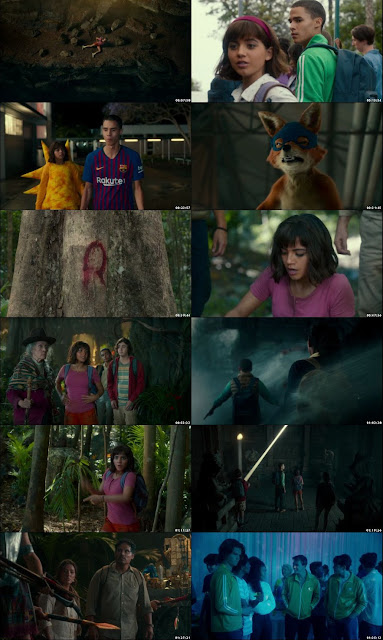 Dora and the Lost City of Gold 2019 Full Hindi Movie Download Dual Audio BRRip 720p Download By Tamilrockers Screenshot