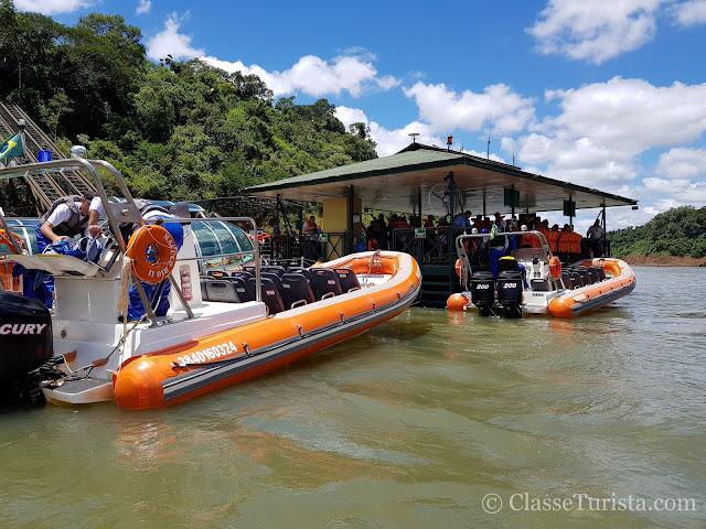 Macuco Safari - Embarque e Desembarque