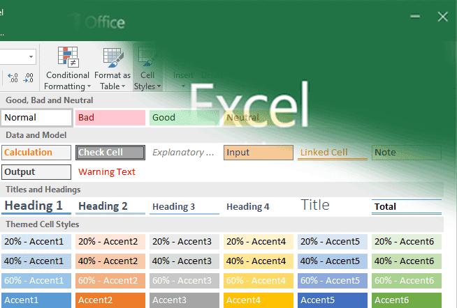 Cara Menyesuaikan Tampilan Tabel Menggunakan Format Sel ...