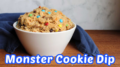 thumbnail for monster cookie dip video