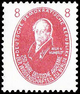 DDR Wilhelm von Humboldt