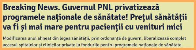 privatizarea sanatatii inseamna costuri mai mari pentru cei cu venituri mici