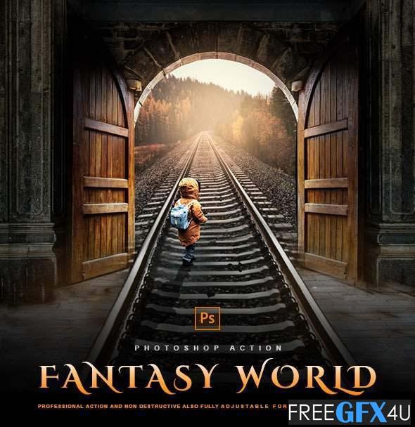 Fantasy World Photoshop Effect