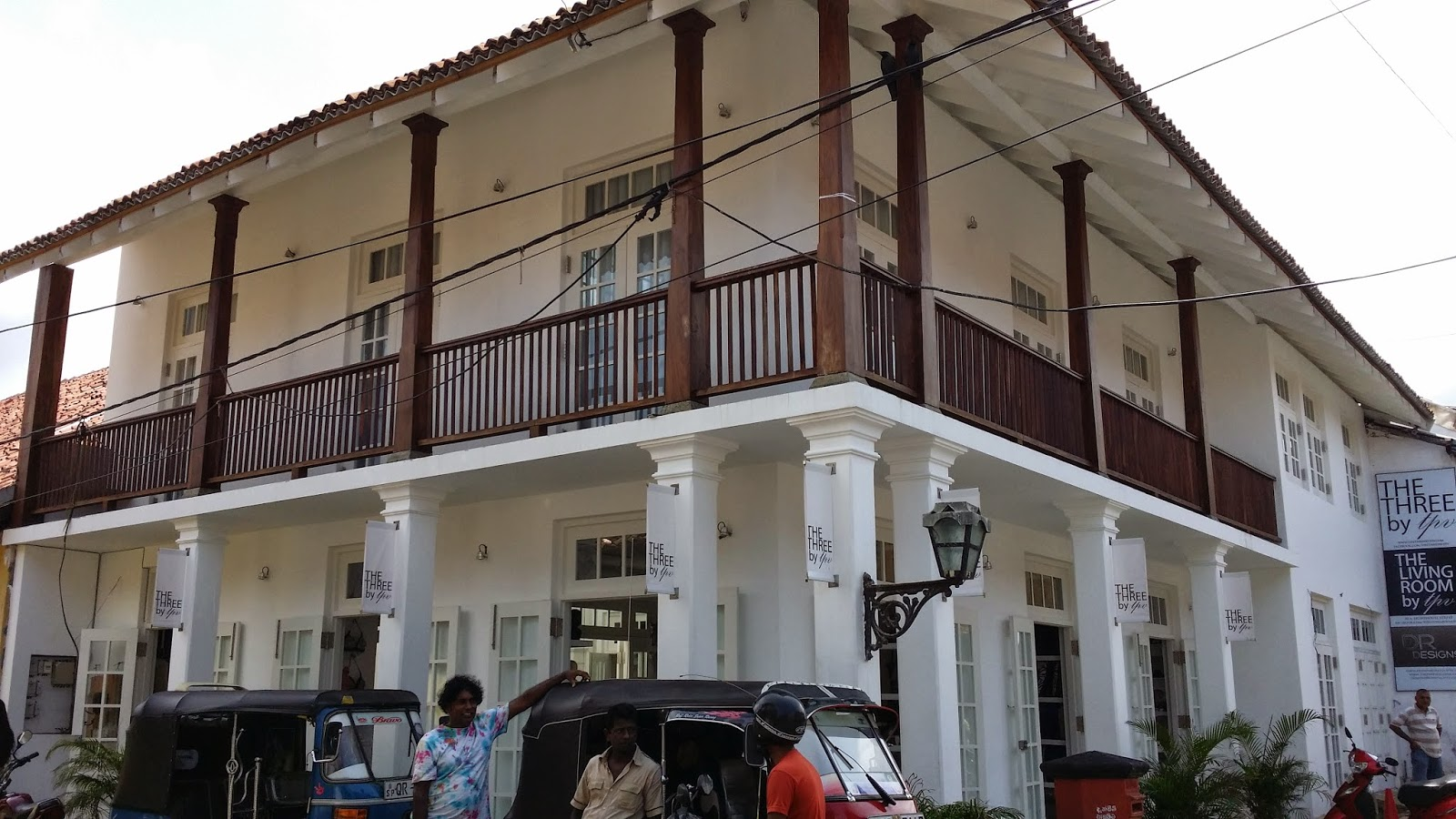 Casa colonial de Galle (Sri Lanka)