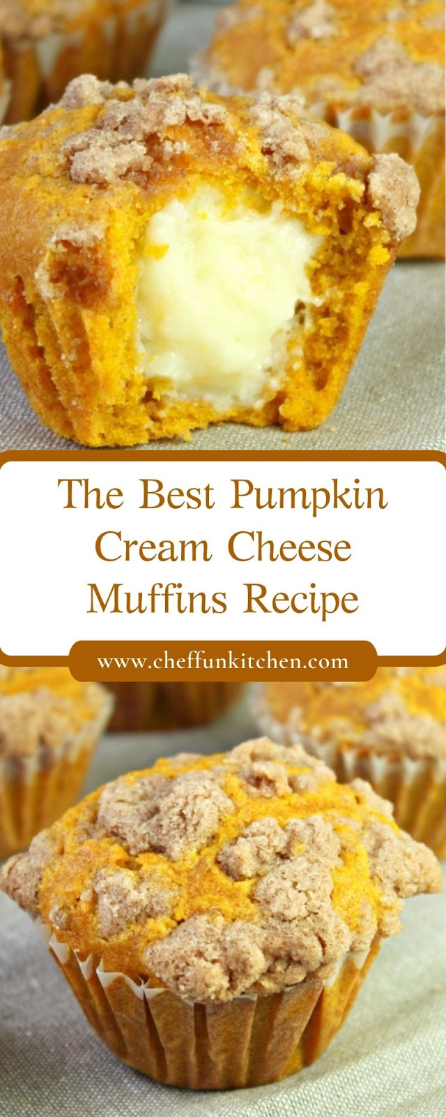 The Best Pumpkin Cream Cheese Muffins Recipe