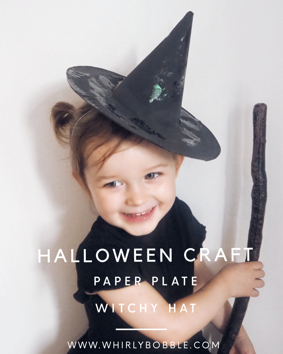DIY Halloween Witches hat craft