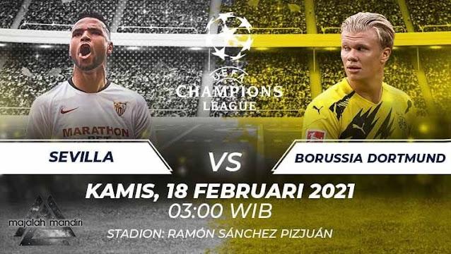 Prediksi Sevilla Vs Borussia Dortmund