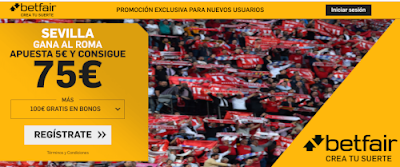 betfair supercuota europa league Sevilla vs Roma 12 marzo 2020