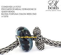 Logo Condividi e vinci due eleganti Beads in argento