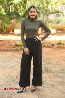Tollywood Actress Punarnavi Bhupalam Latest Po Gallery in Black Trouser Pant at Pittagoda Movie Interview  0180.JPG