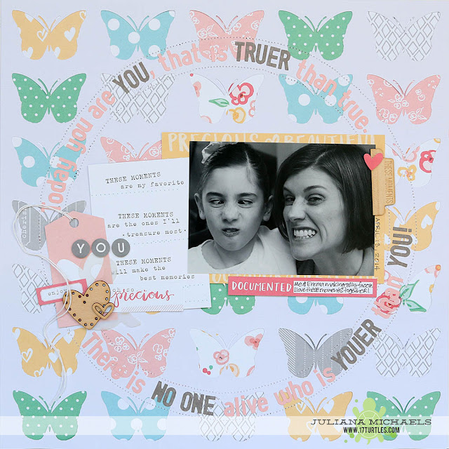 Youer Than You Scrapbook Page by Juliana Michaels