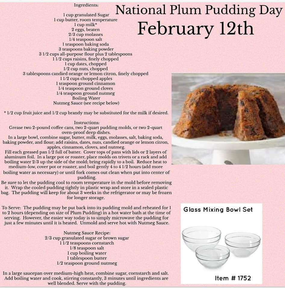 National Plum Pudding Day Wishes For Facebook