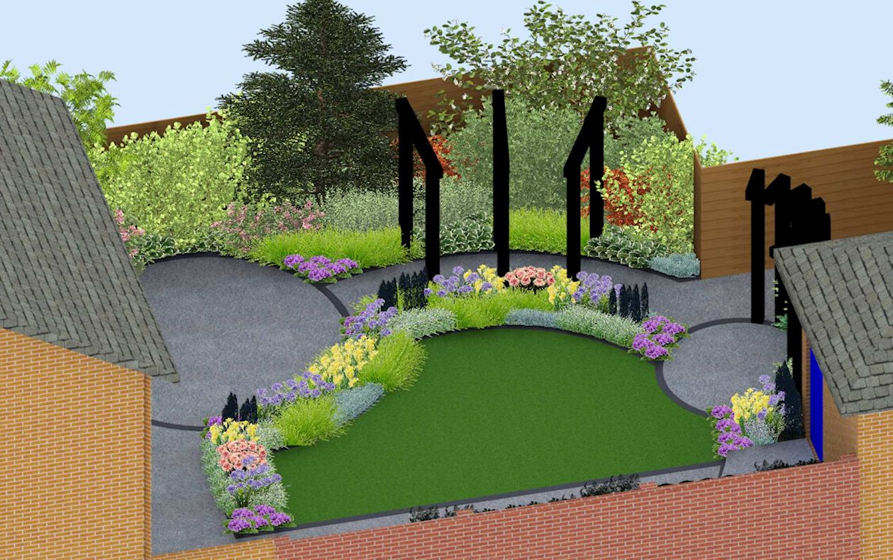Using Railway Sleepers For Raised Vegetable Beds A Life Designing Small Contemporary Garden Design Bracknell