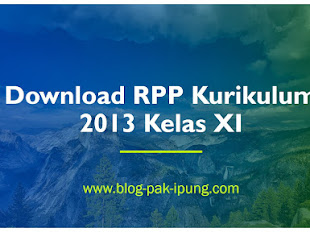 [DOWNLOAD] RPP K13 KELAS XI