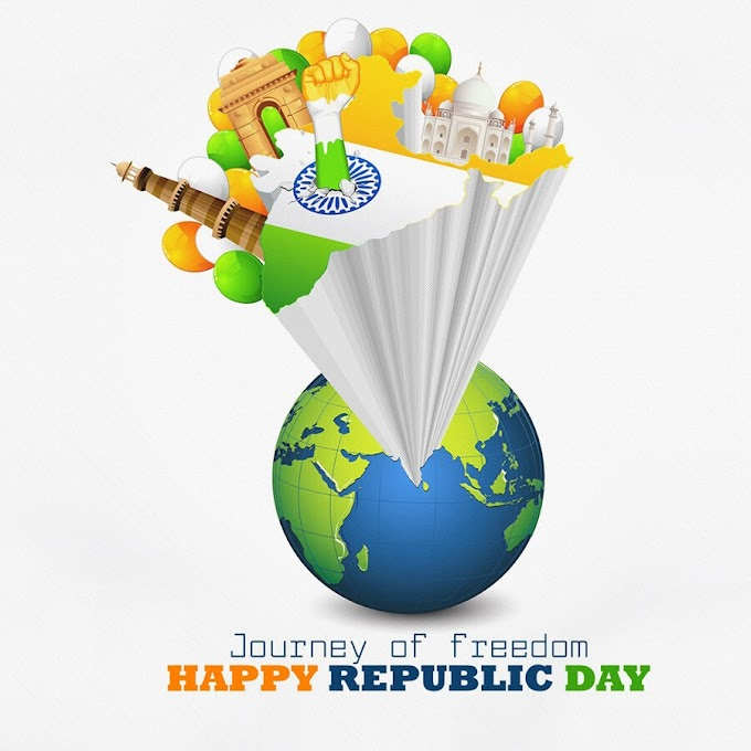 Happy 72 Republic Day 2021: Wishes Images, Quotes, Status, Photos ...