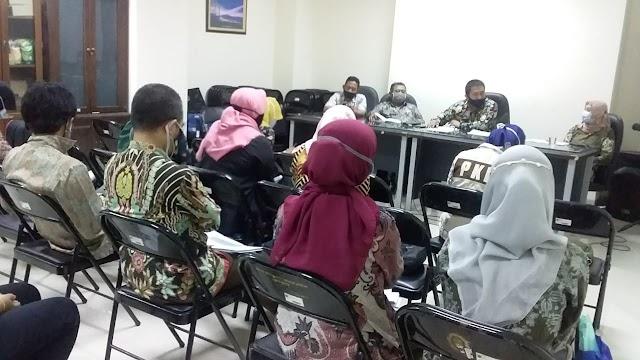 Rapat Koordinasi Bulanan Dihadiri Kabid dan Kasie Dinsos Kota Batu