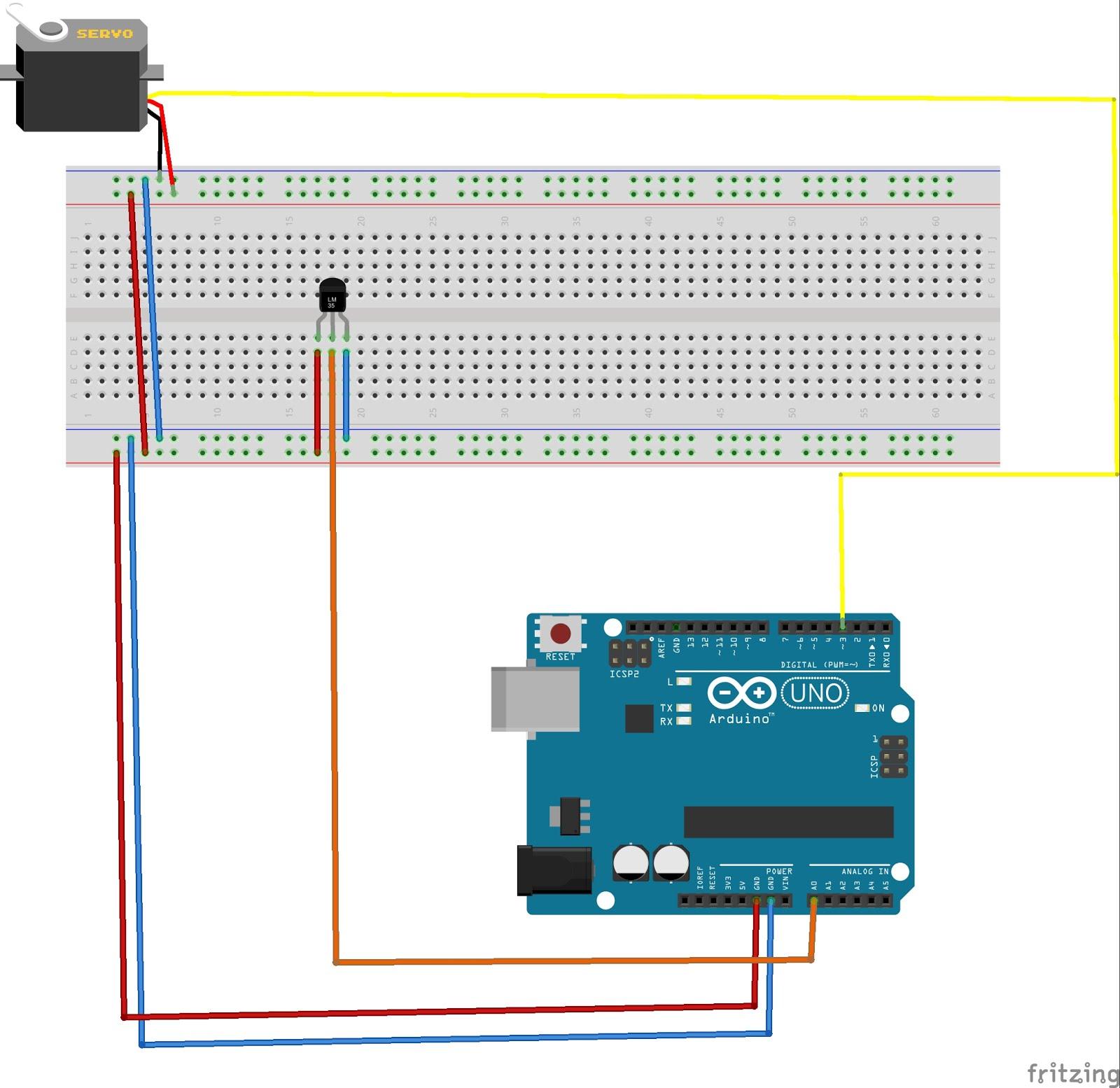 Arduino ile servo motor burak tahtacıoğlu