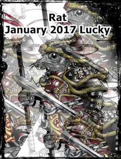 Rat zodiac January 2017 Lucky Numbers