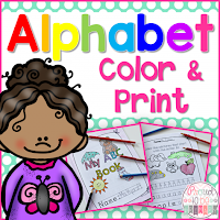 Alphabet Color & Print cover
