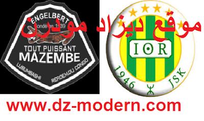 مباراة شبيبة القبائل تي بي مازيمبي القادمة 16-04-2017 jsk vs tp mazembe