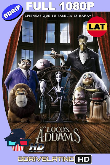 Los Locos Addams (2019) BDRip 1080p Latino-Ingles MKV