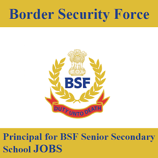 Border Security Force, BSF, Force, Principal, Post Graduation, New Delhi, freejobalert, Sarkari Naukri, Latest Jobs, bsf logo