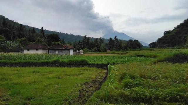 Erupsi Gunung Agung November 2017