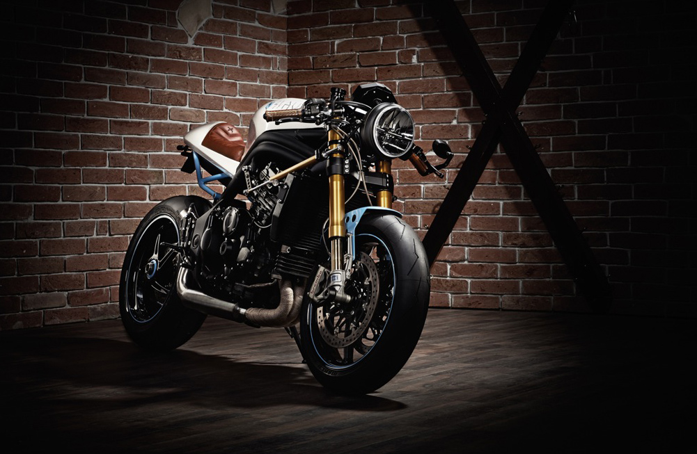 Kalup Triumph Speed Triple R Slaves Return Of The Cafe Racers