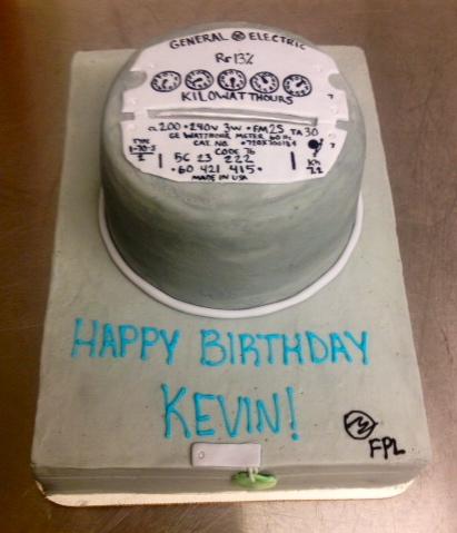 Sweet T S Cake Design Electric Meter Box Birthday Cake