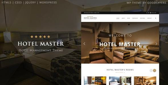Best Hotel Premium WordPress Theme
