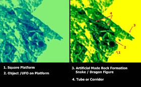 Undeniable evidence of structures on a comet called 67P.