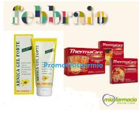 Logo Campioni omaggio Arnica Gel Forte e ThermaCare: ricevili gratis