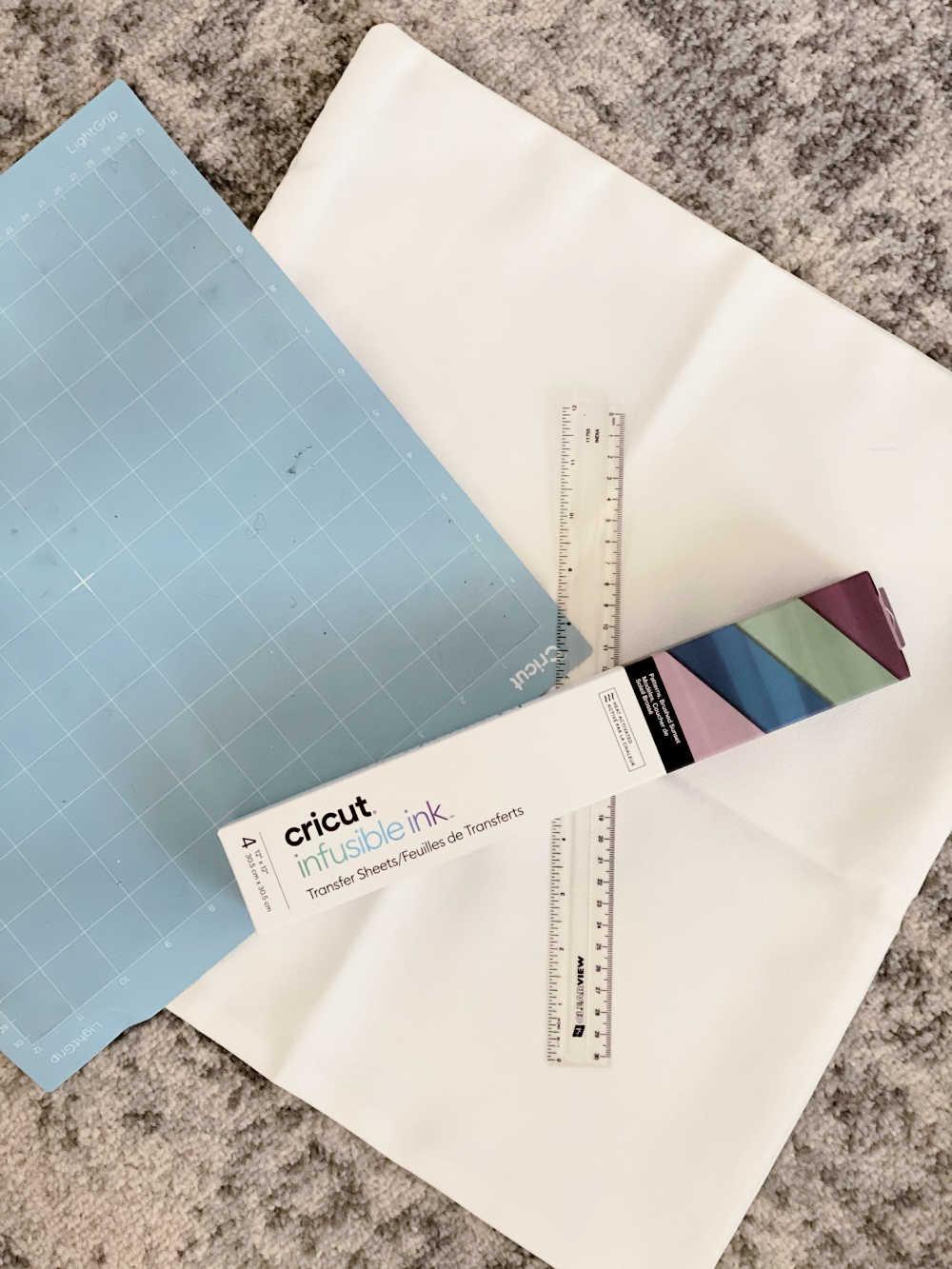 cricut infusible ink pillow