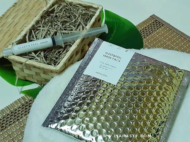 Produk unik krim, serum & mask pack MIDAMSU x YIRUBA - Korean Anti Aging Skincare Solution