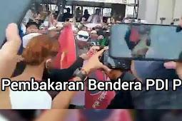Massa PDIP Demo Dipolres Jaktim