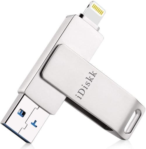 Review iDiskk 128GB USB Flash Drive Photo Stick