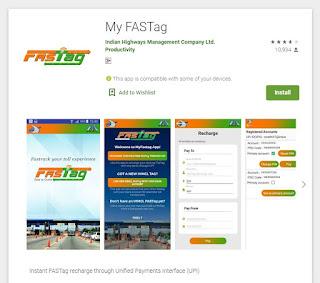 My fastag app