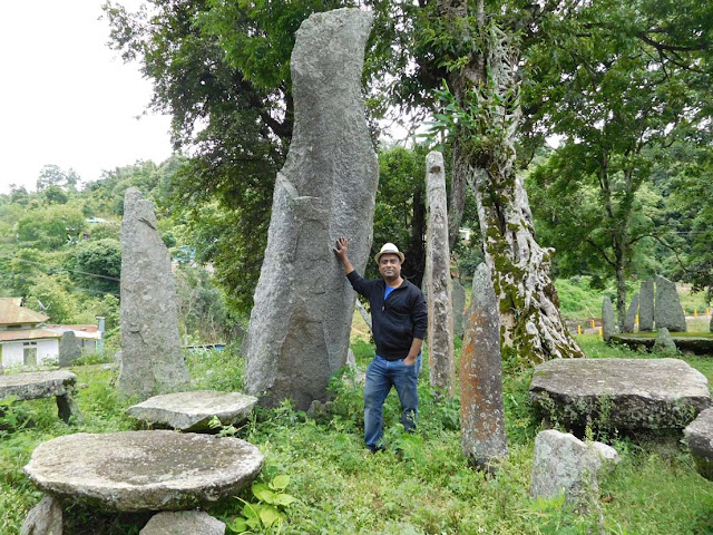 The Nartiang Monoliths, Meghalaya, India