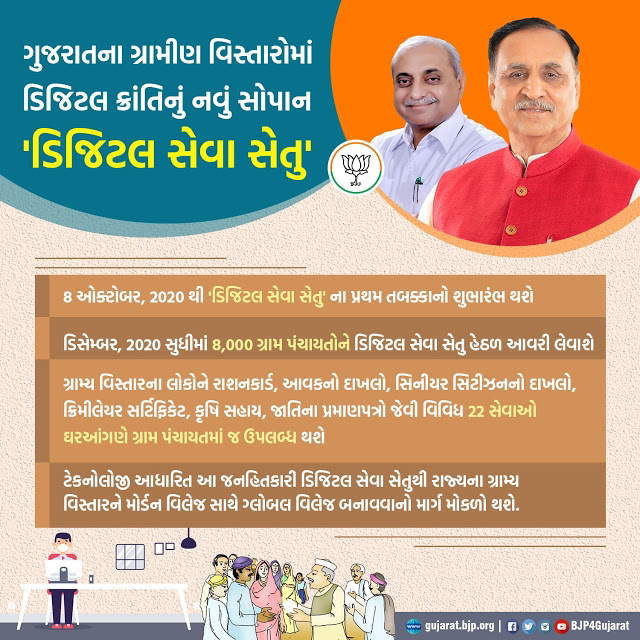 Digital Seva Setu Gujarat Programme For Rural