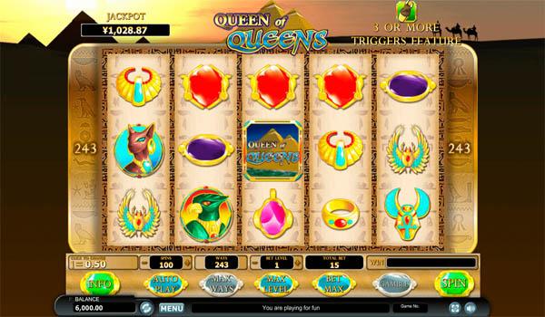 Main Gratis Slot Indonesia - Queen of Queen Habanero