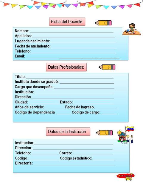 Presentación de la Agenda o Libreta administrativa.