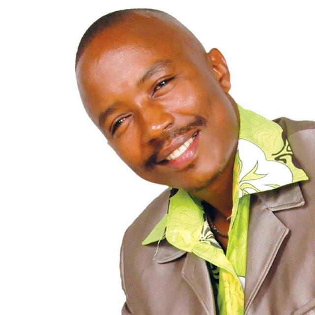 Gospel singer Dennis Mutara photo in alcohol