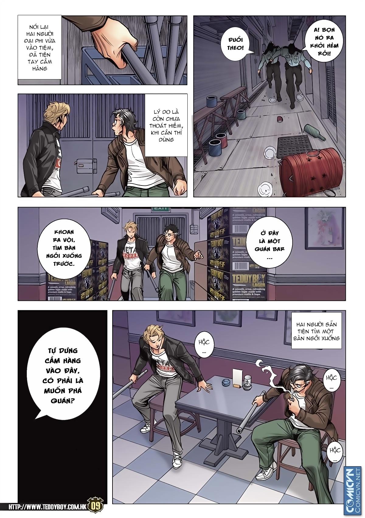 Người Trong Giang Hồ chapter 2091: trần hạo nam và lý thành khắc trang 8