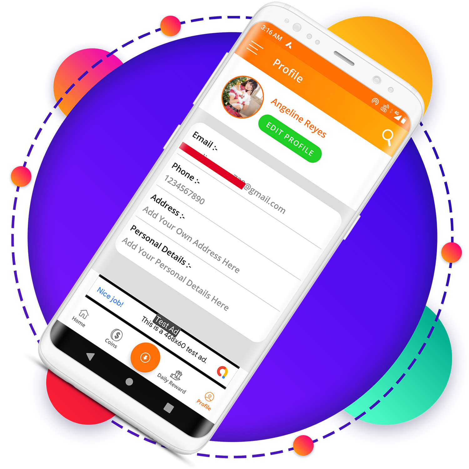 QuickCash All In One Money Earning Android App + Games + WhatsApp Tools + Earning System Admin Panel - 2