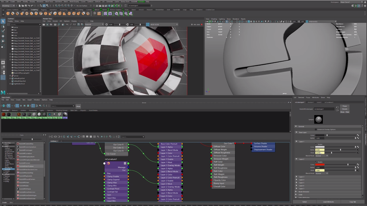 Understanding the New Nodes Included in Redshift 2 5 for Maya | CG