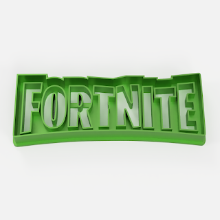 fortnite logo cookie cutter cutting