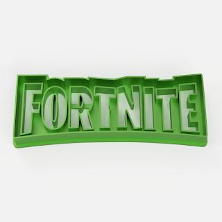 fortnite logo cookie cutter cutting