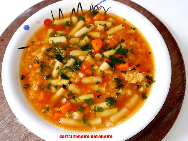 Zupa fasolkowa z soczewicą - Czytaj więcej »
