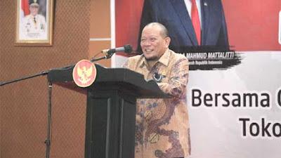 Ketua DPD RI Ingatkan Pemerintah Perhatikan Bansos bagi Suku Terpencil